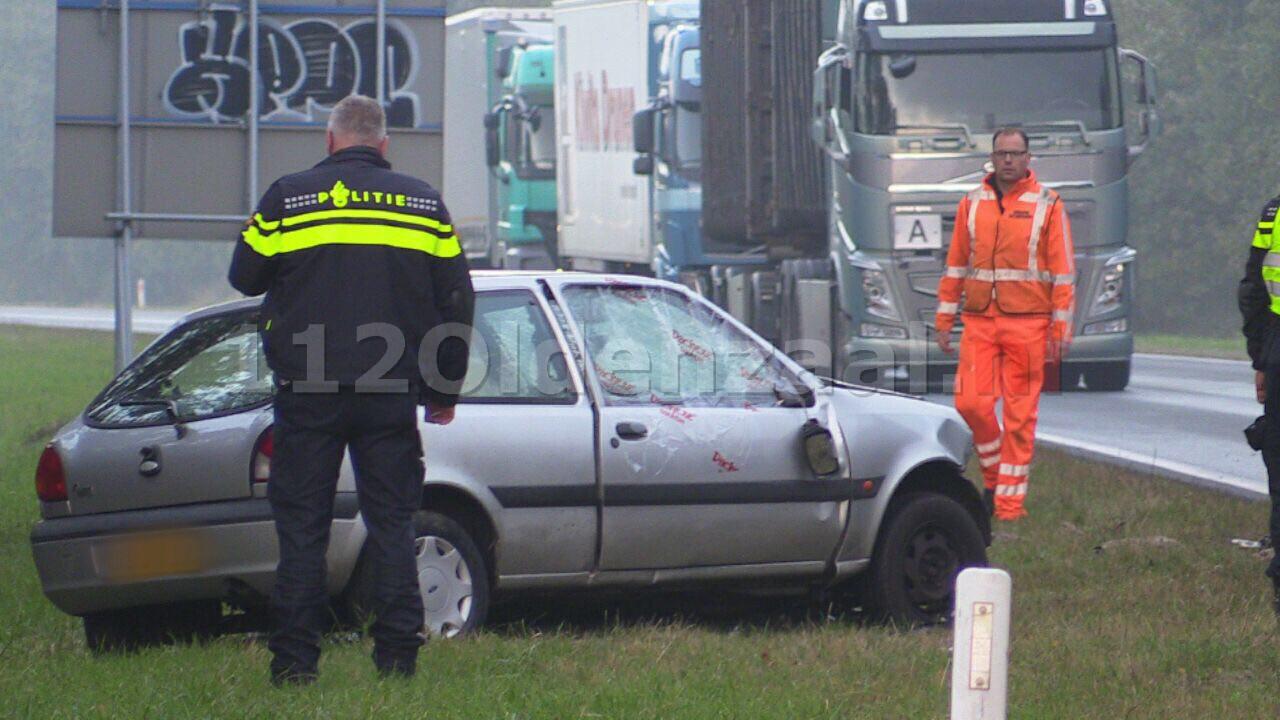 Video: N35 Enschede afgesloten na ernstig ongeval