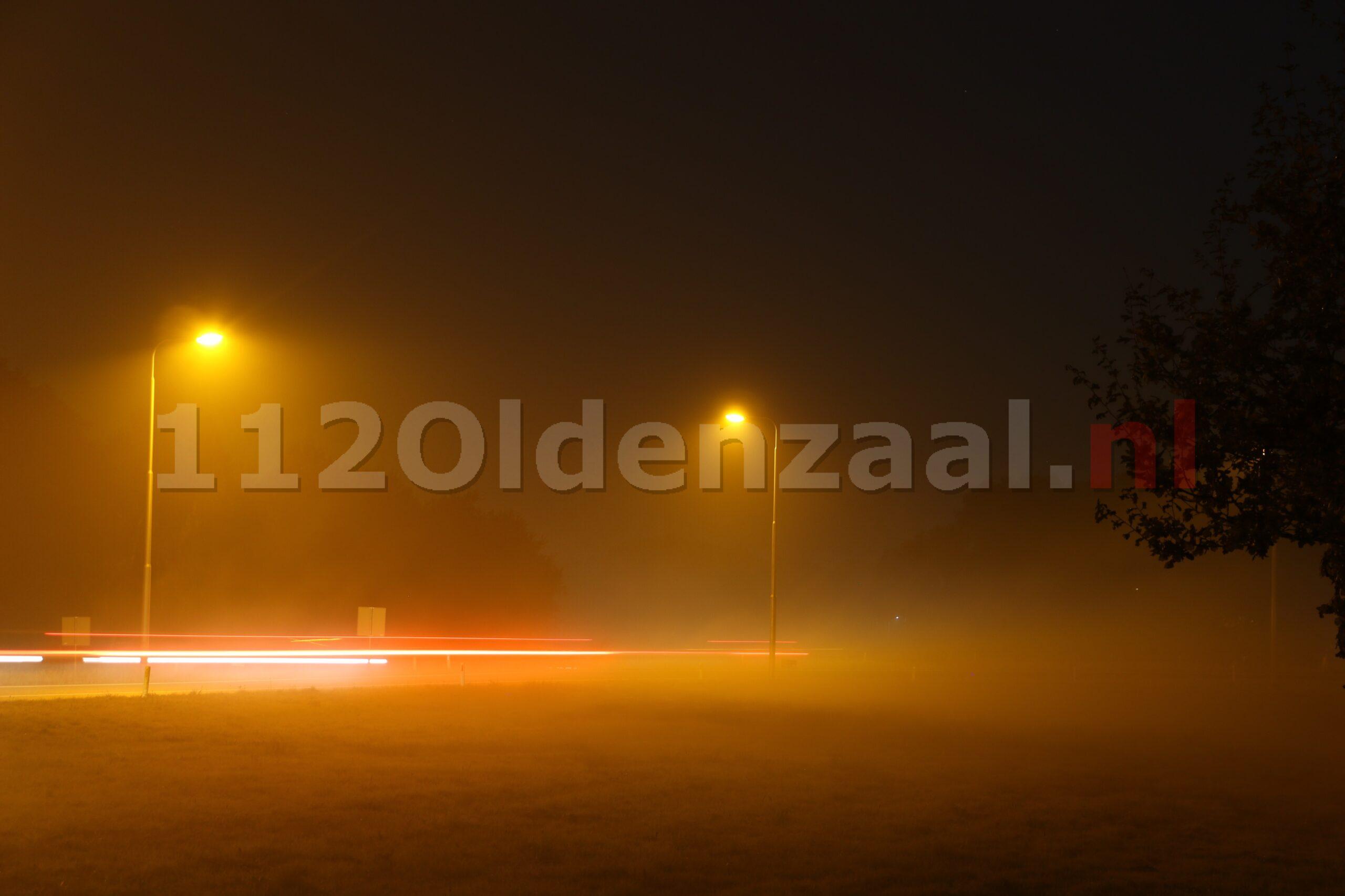 """KNMI waarschuwt met code geel voor """"verkeersbelemmerende mist"""""""