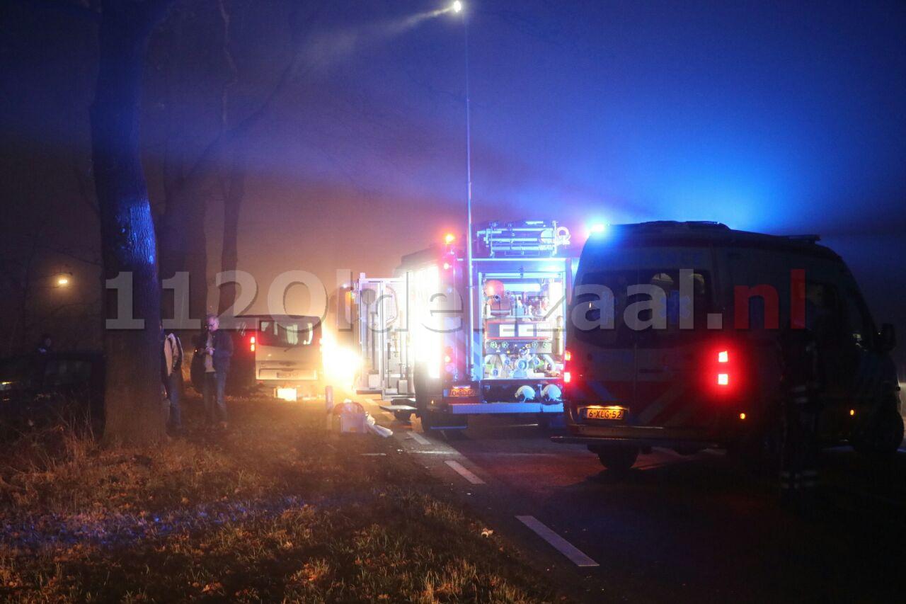 UPDATE: Brandweerman gebeten bij ongeval Hoofdstraat Overdinkel