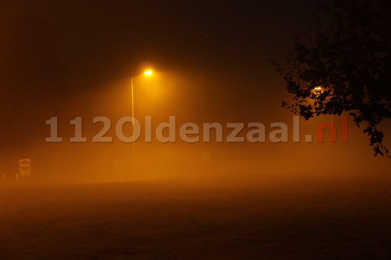 Slecht zicht door (zeer) dichte mist