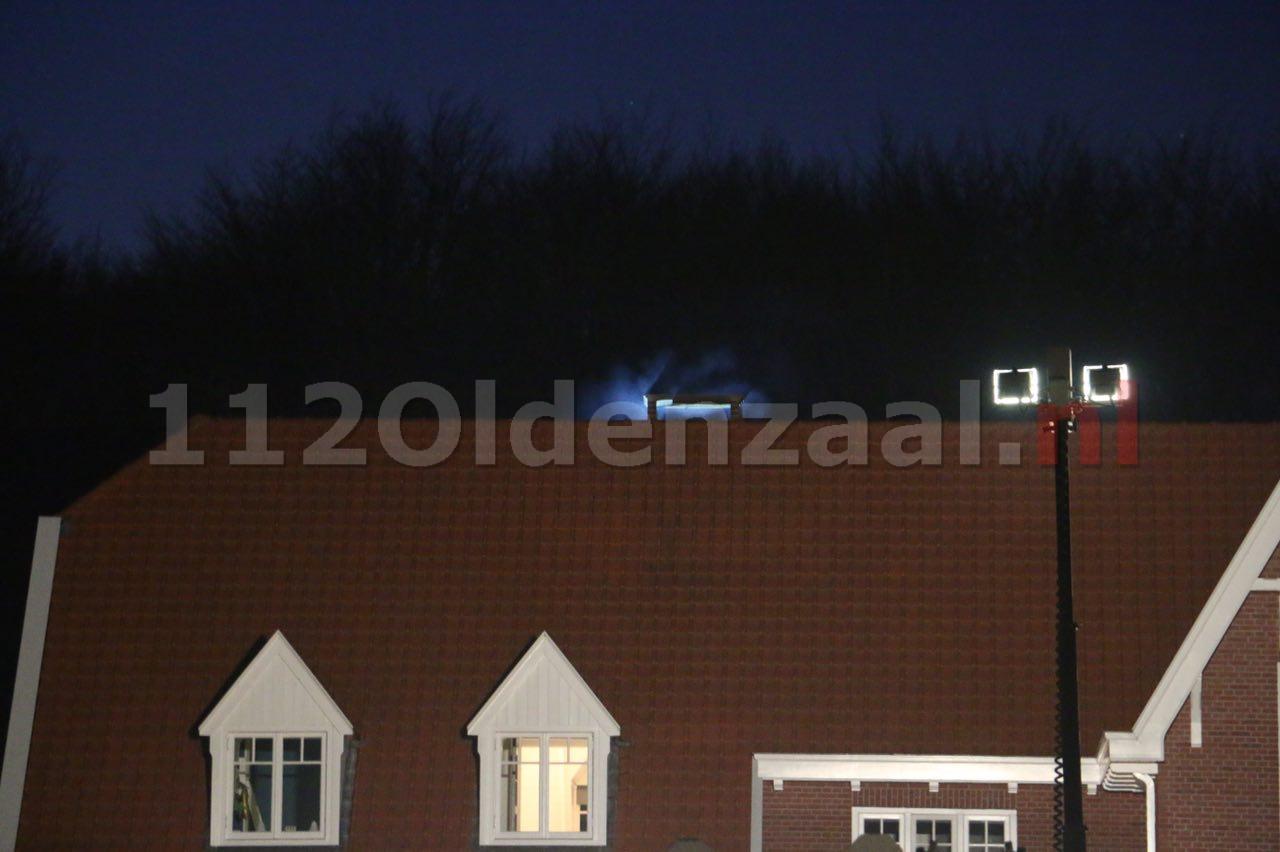 Brandweer rukt uit voor schoorsteenbrand in Beuningen