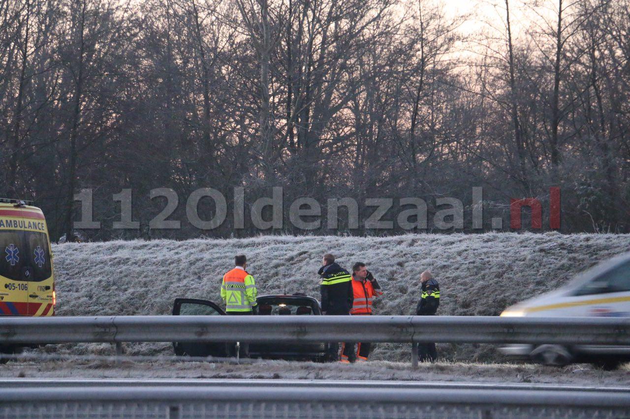 Hulpdiensten rukken uit voor ongeval op A1 Oldenzaal