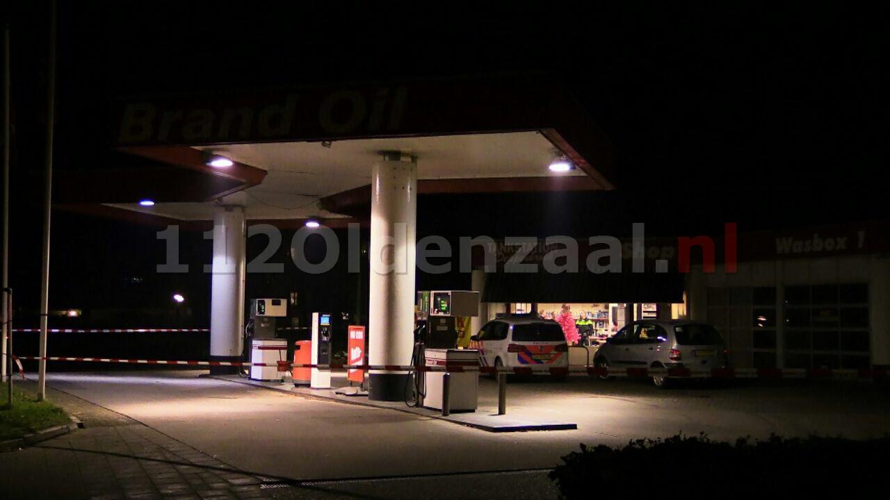 Foto: Overval op tankstation Enschede