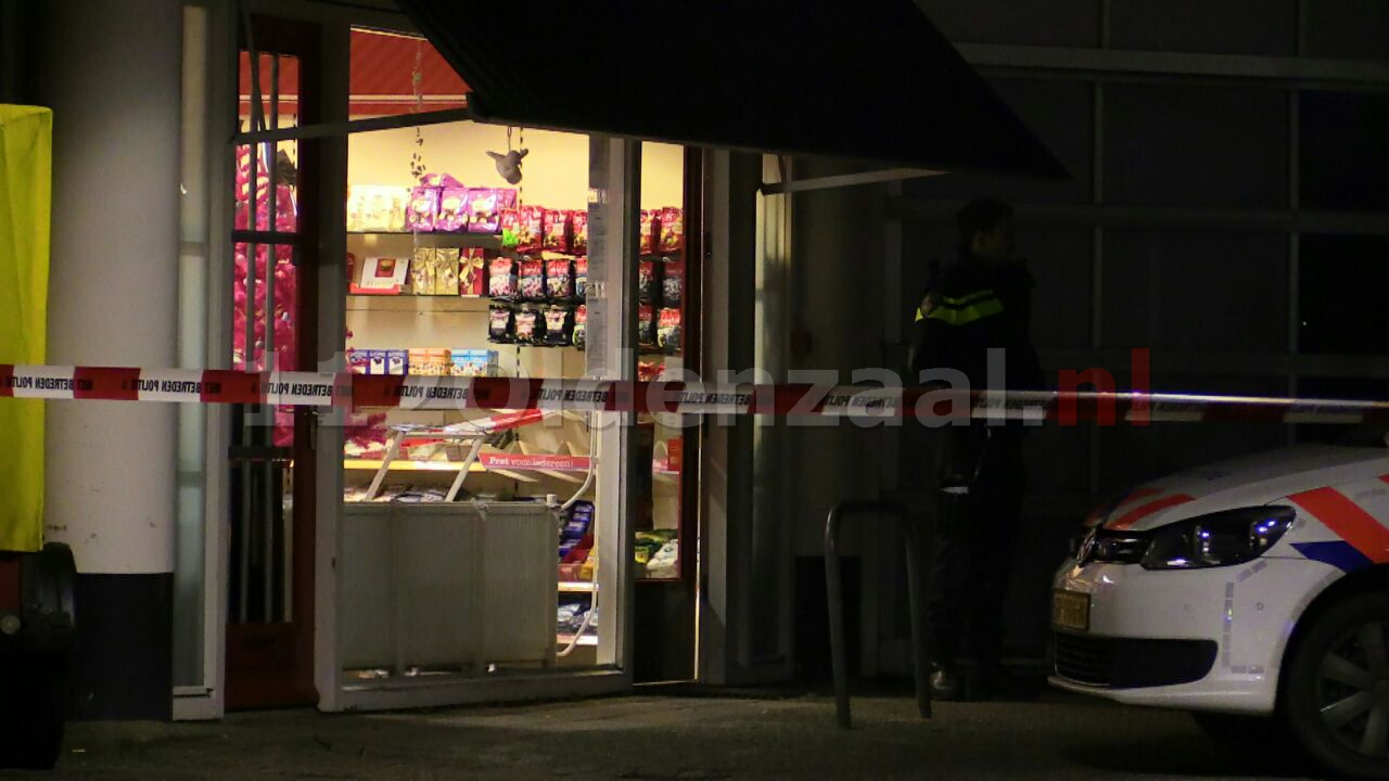 Foto 2: Overval op tankstation Enschede