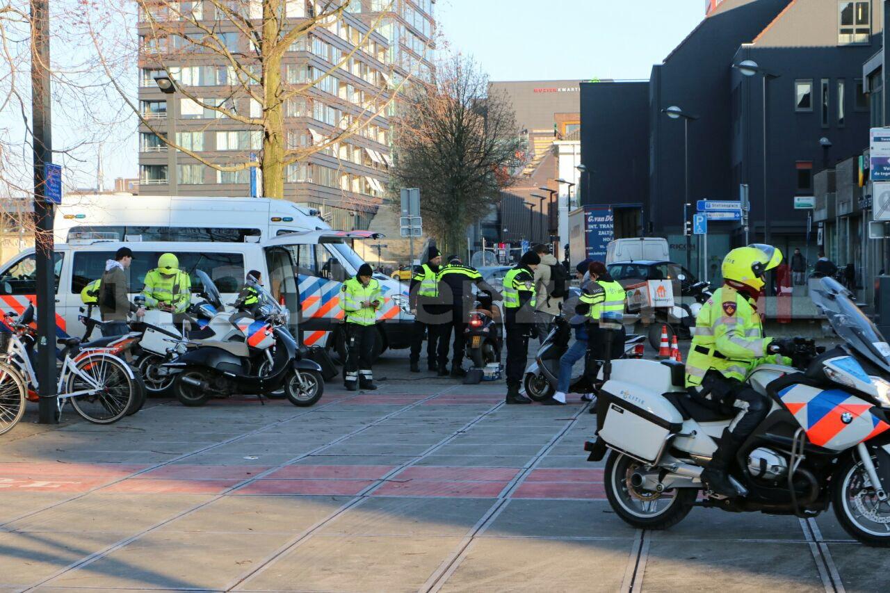 Foto: Grote interdisciplinaire controle station Enschede