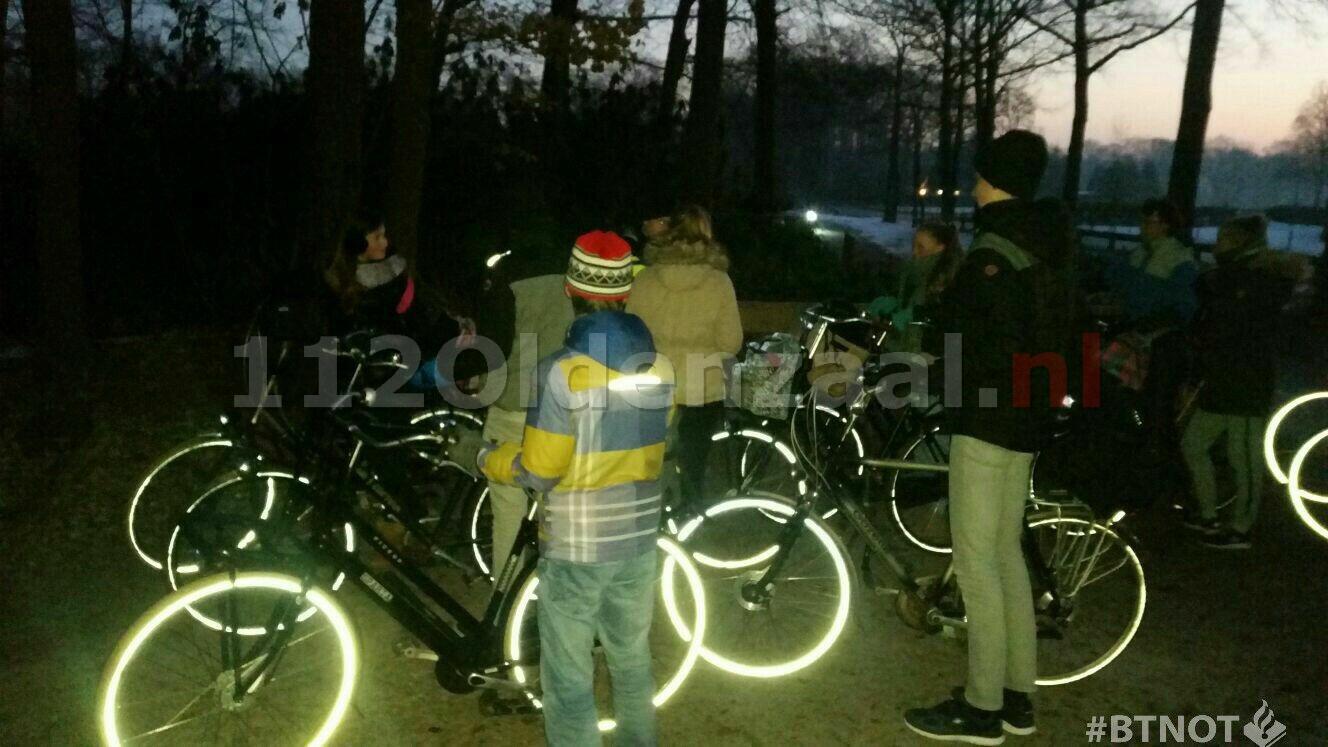 Foto: Negen bekeuringen bij controle fietsverlichting in Tubbergen