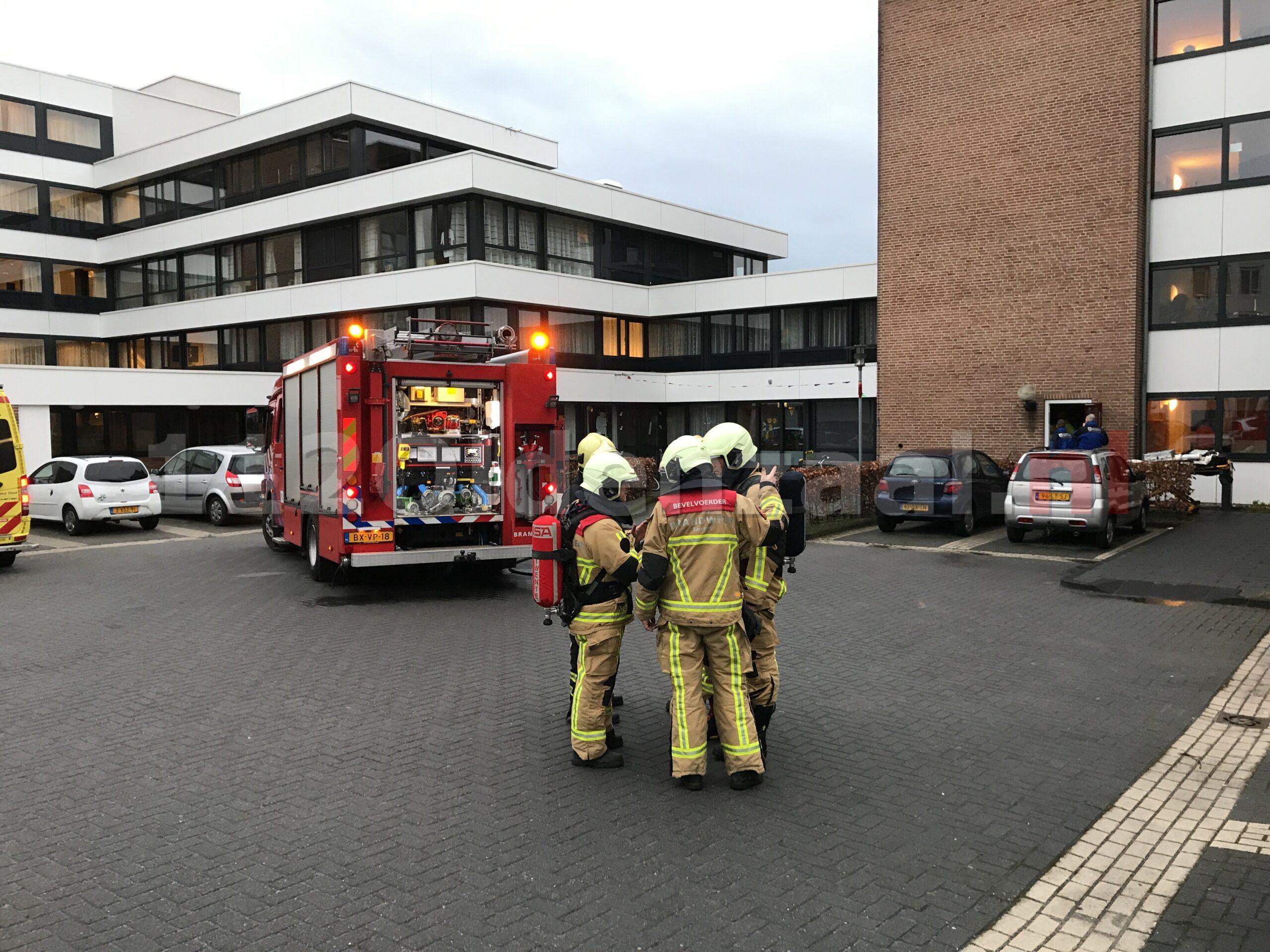 Foto 2: Brand bij Molenkamp Oldenzaal