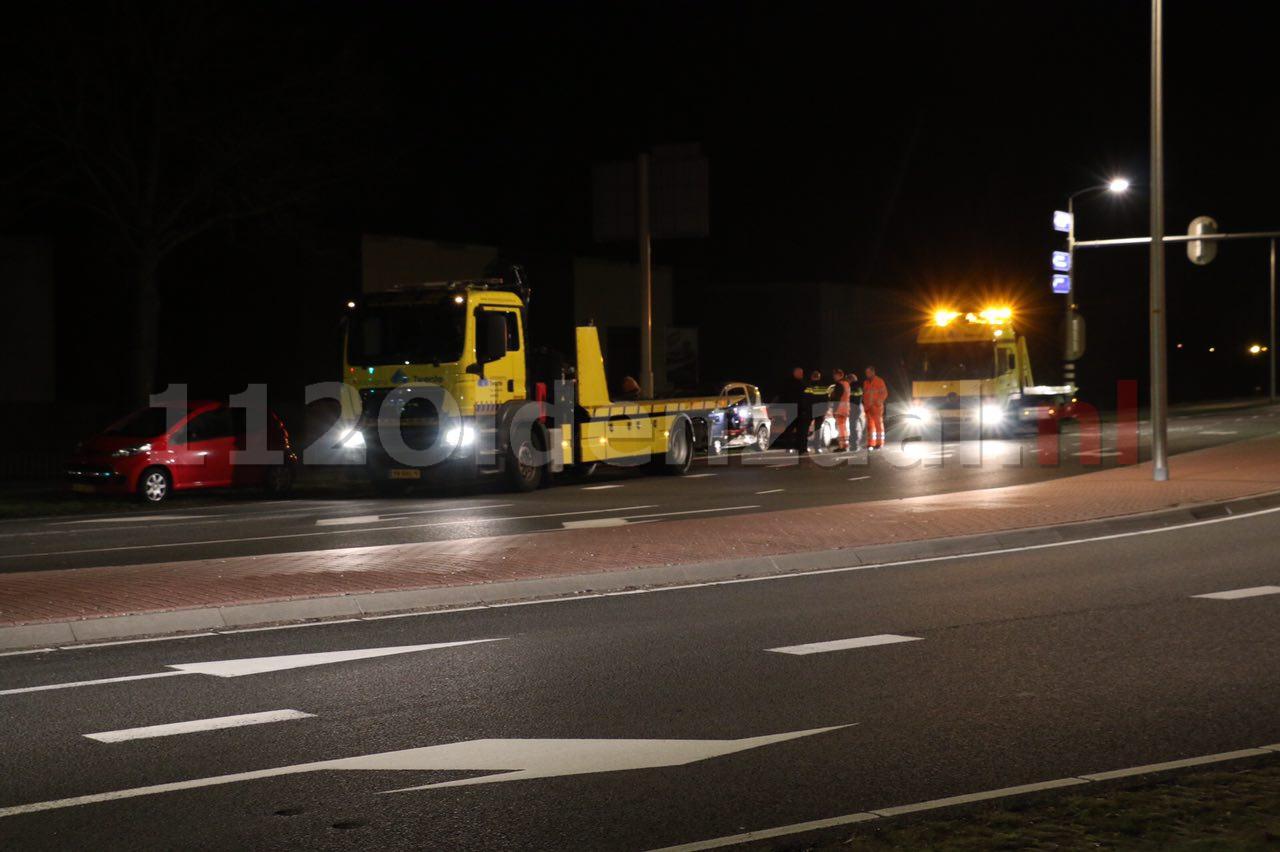 Foto 3: Schade bij aanrijding Enschedesestraat Oldenzaal