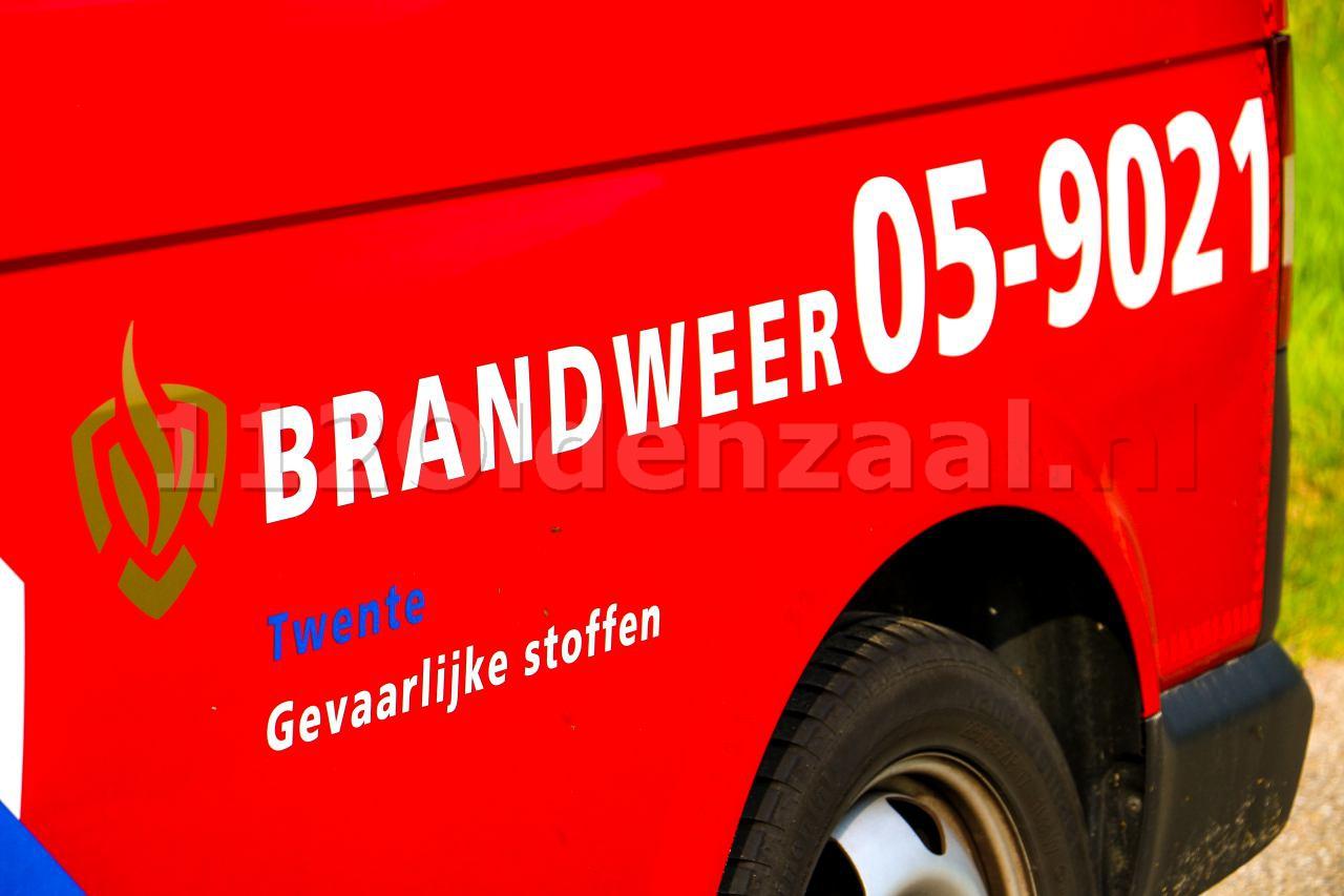Brandweer opgeroepen voor incident station Oldenzaal