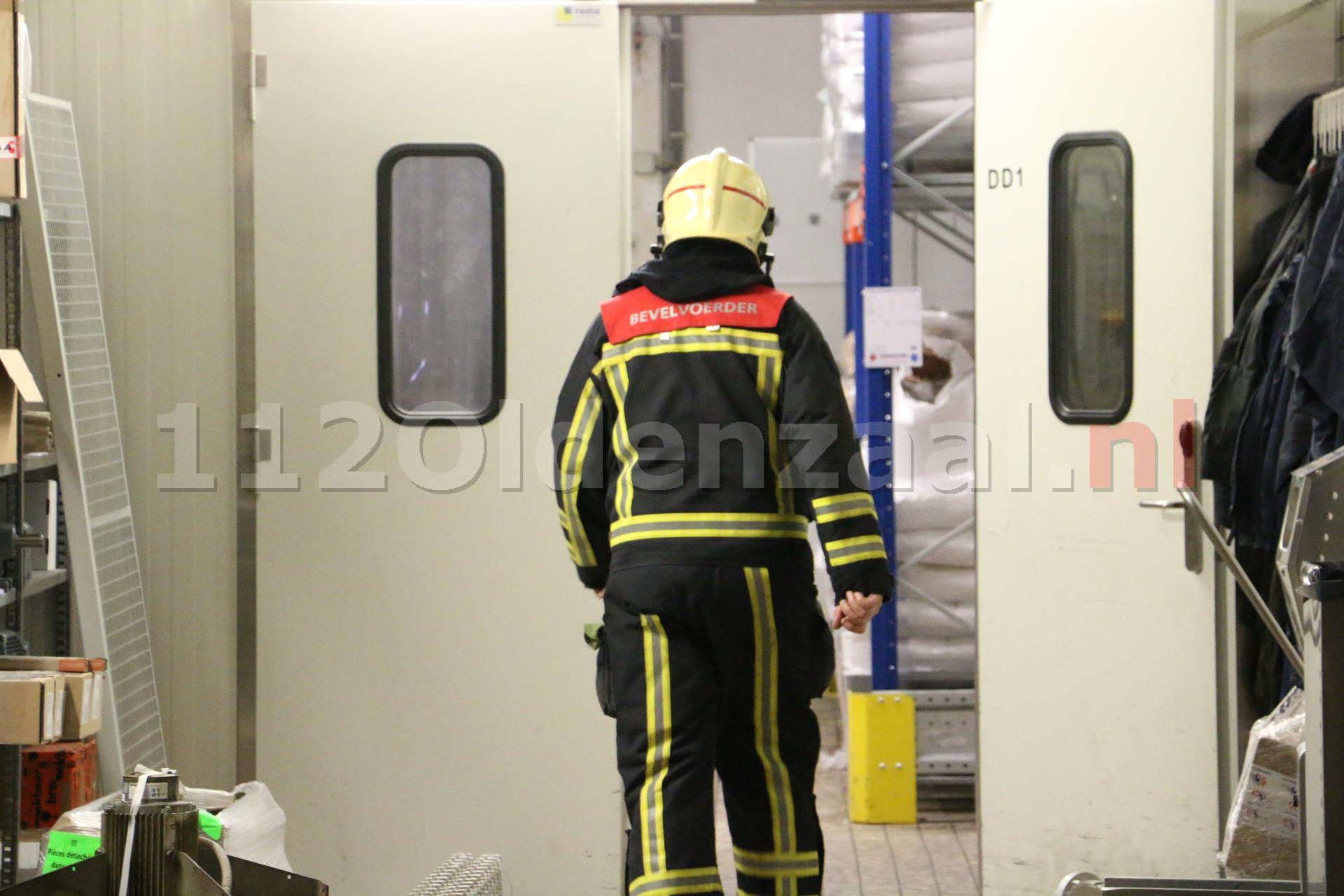Video: Brand in oven bij Pré Pain Oldenzaal, pand ontruimd
