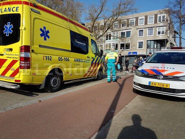 Gewonde bij aanrijding Oldenzaalsestraat Hengelo