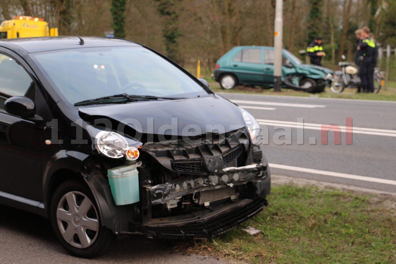 Forse schade bij aanrijding Hengelosestraat tussen Hengelo en Oldenzaal