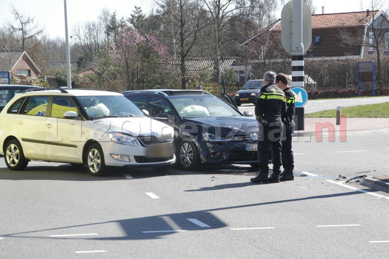 Gewonden bij aanrijding op kruispunt Oldenzaal