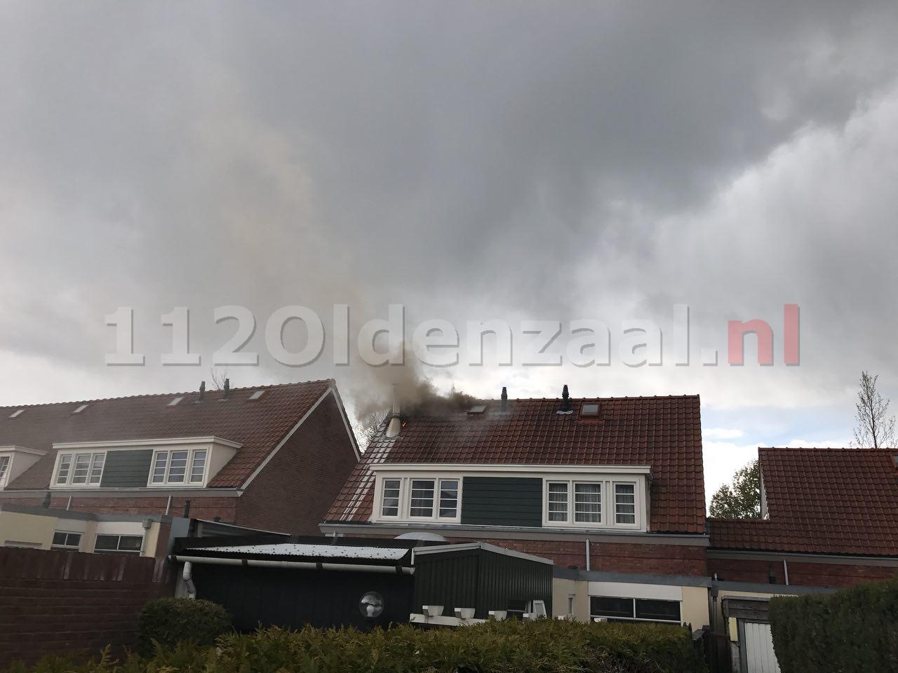 UPDATE: Forse schade bij brand in dak woning Oldenzaal