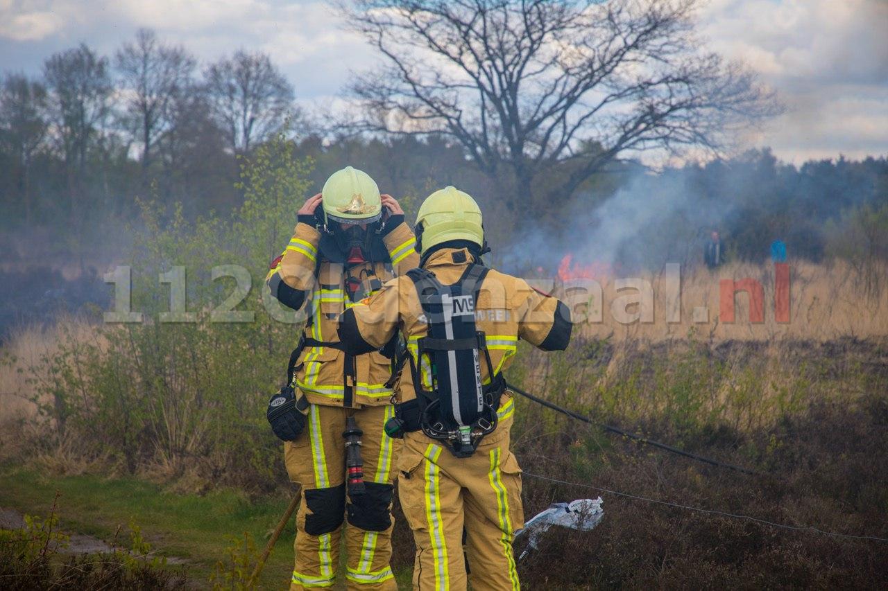 UPDATE: Politie start onderzoek naar natuurbranden in Noordoost-Twente