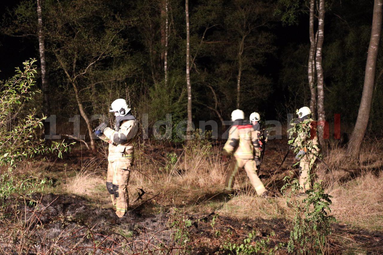 Foto 2: Brandweer rukt wederom uit voor natuurbrand in Denekamp