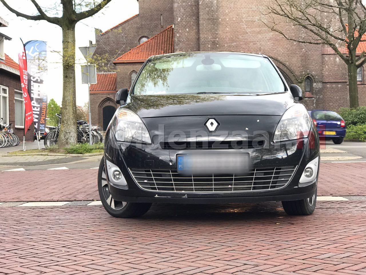 Foto 2: Aanrijding tussen brommer en auto Ootmarsumsestraat Oldenzaal