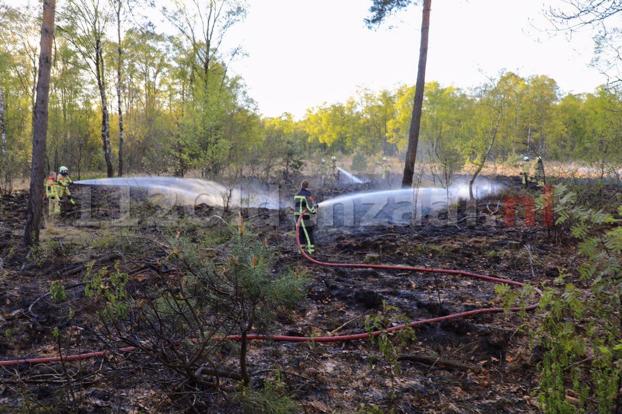 Foto 2: Opnieuw natuurbrand; politie doet onderzoek