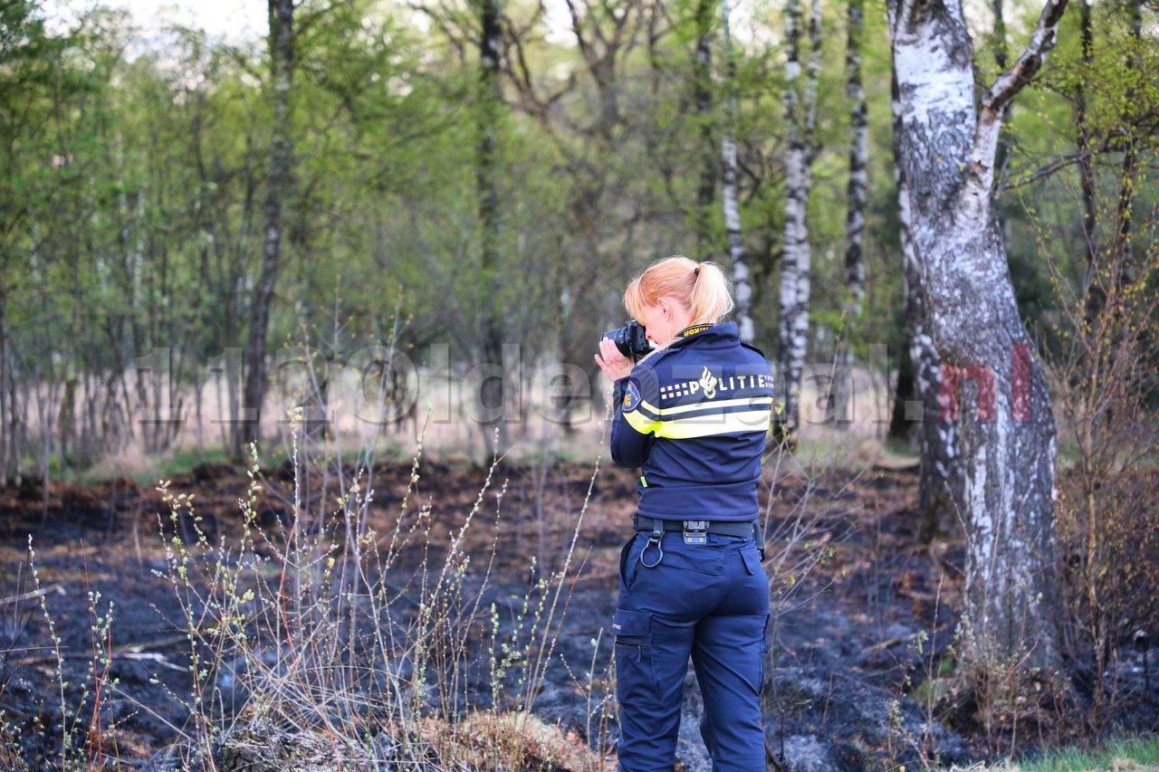 Persbericht politie: Politie onderzoekt natuurbranden; getuigen gezocht