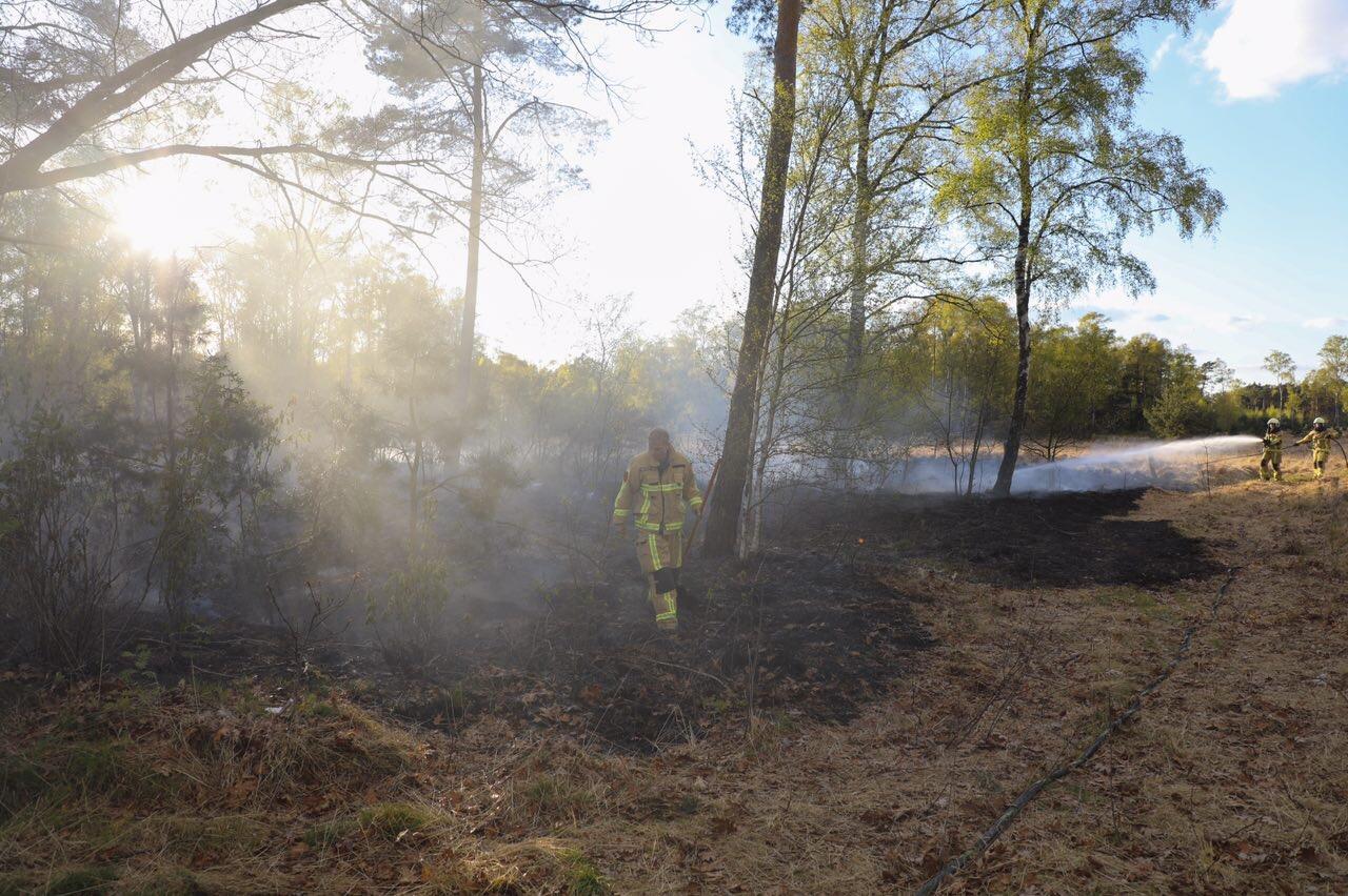 Opnieuw natuurbrand; politie doet onderzoek