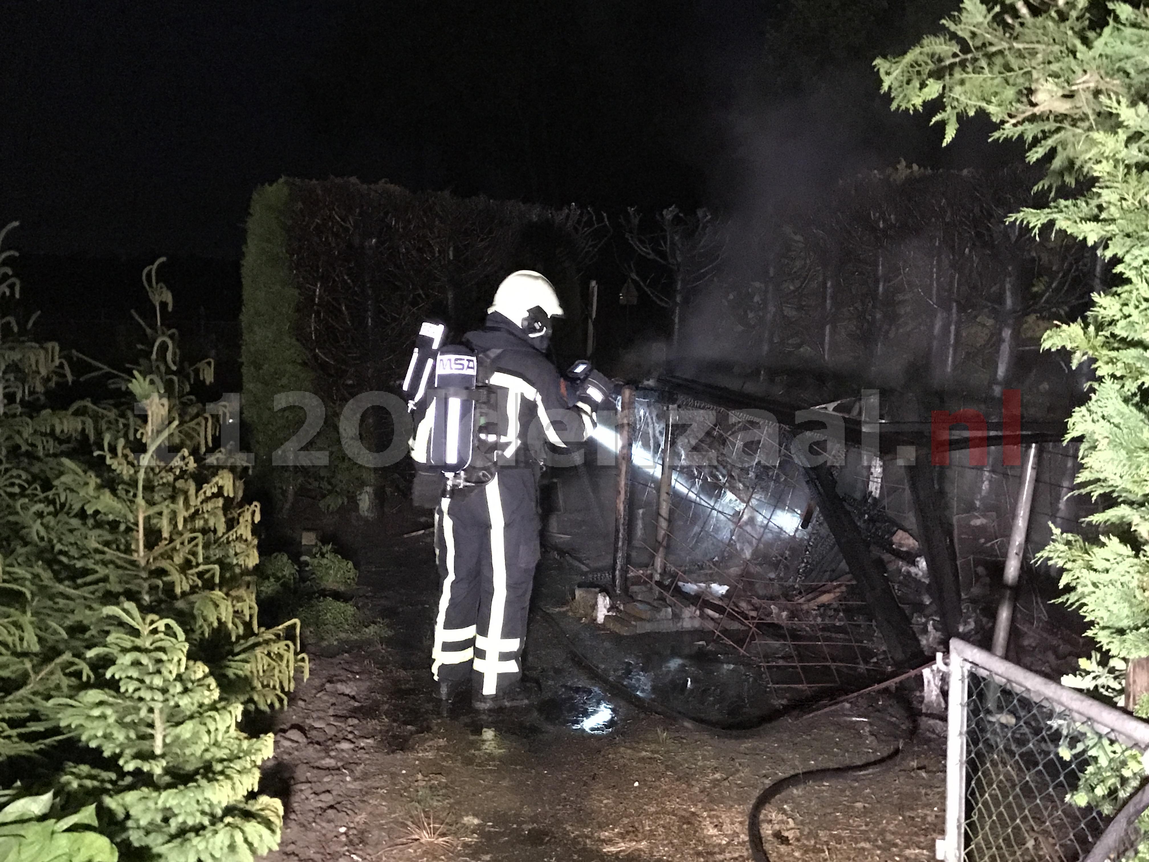 Foto 2: Drie jongens aangehouden bij branden in Deurningen