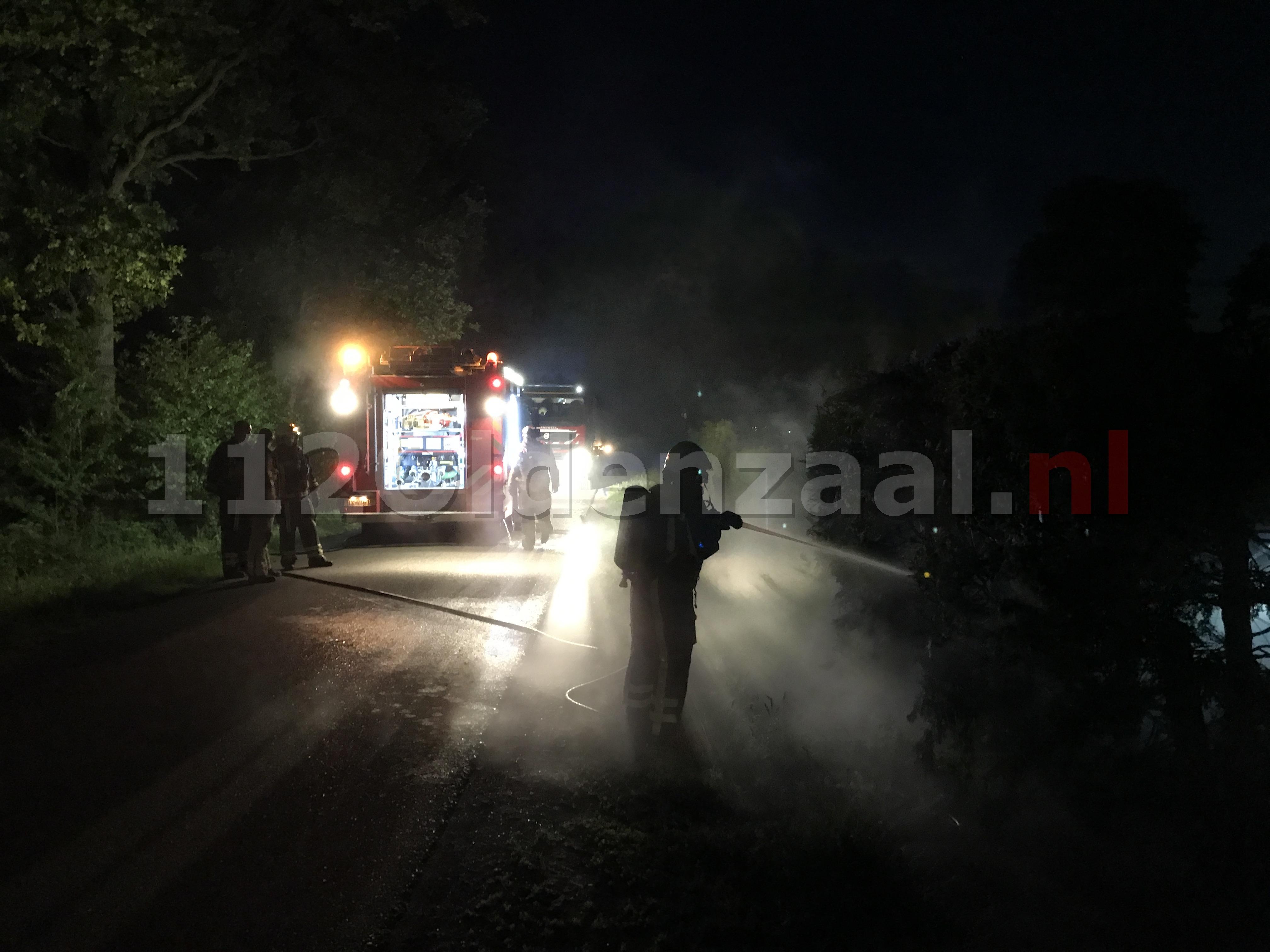 Foto 3: Drie jongens aangehouden bij branden in Deurningen
