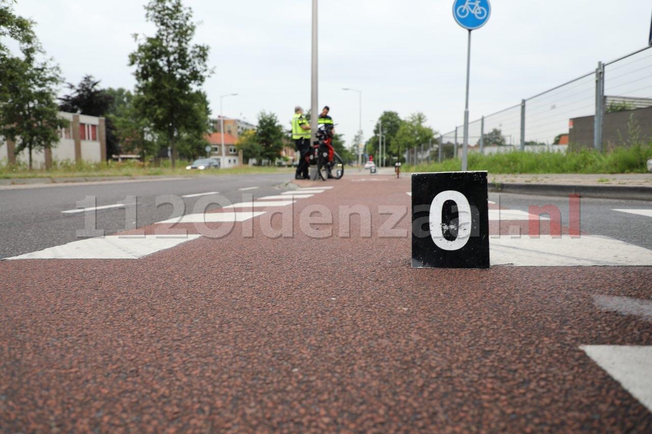 VIDEO: Politie doet aanvullend onderzoek na ongeval fietser in Oldenzaal
