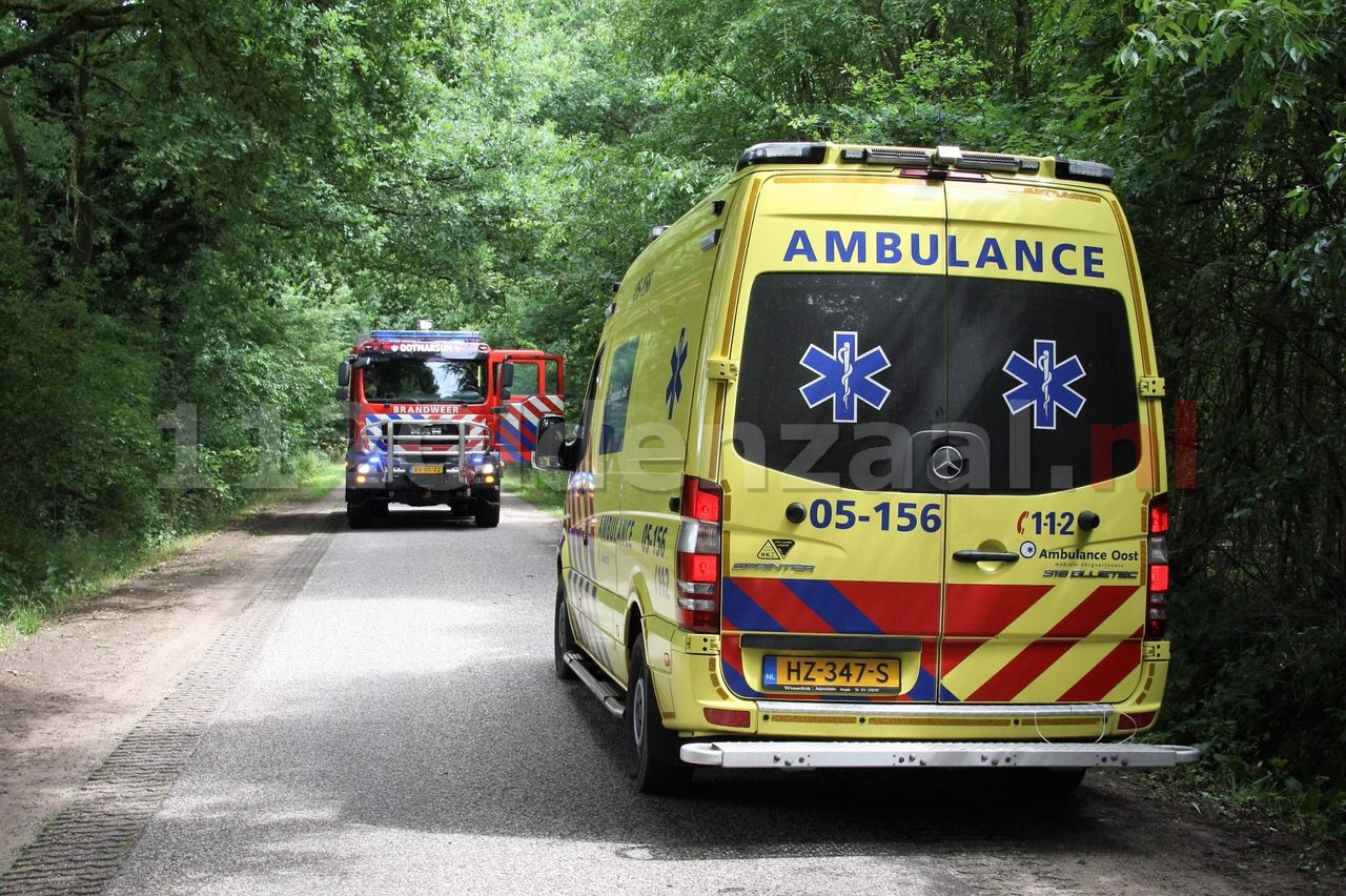 Fietser raakt gewond na ongeval in Tubbergen