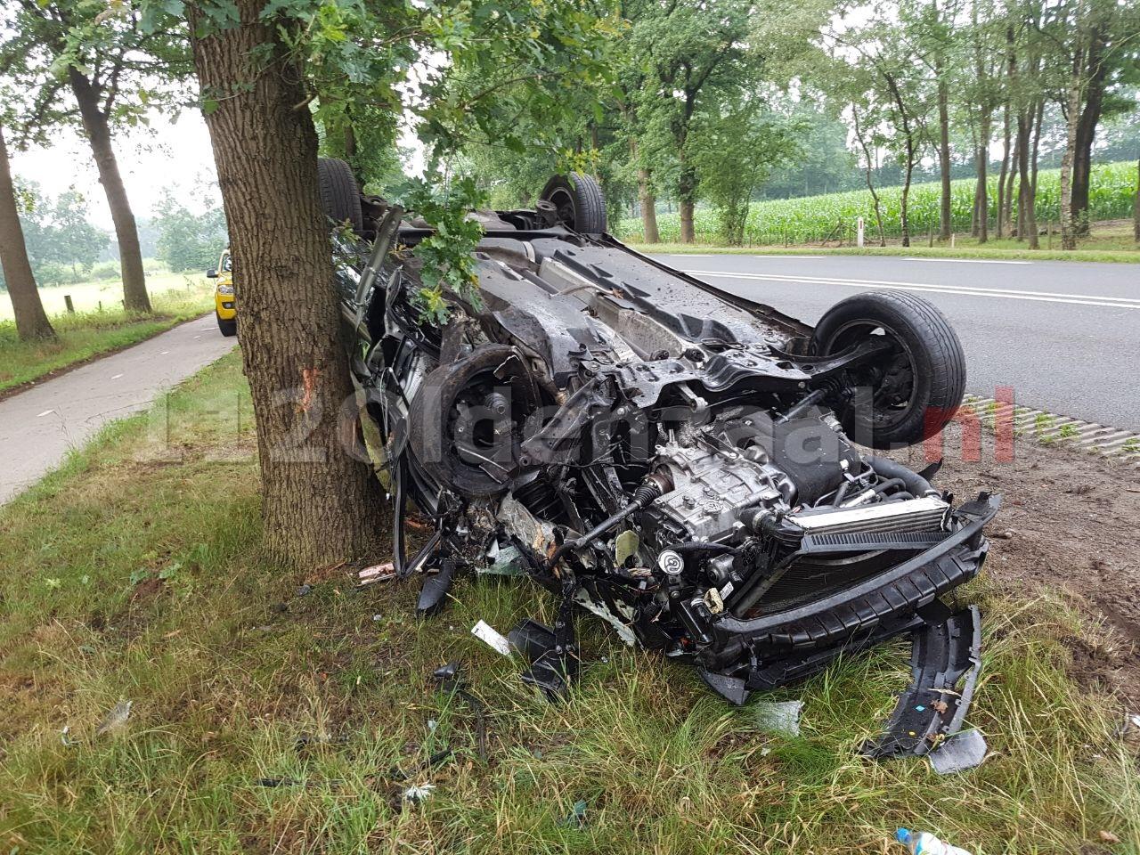 Gewonde bij ernstig ongeval in Geesteren