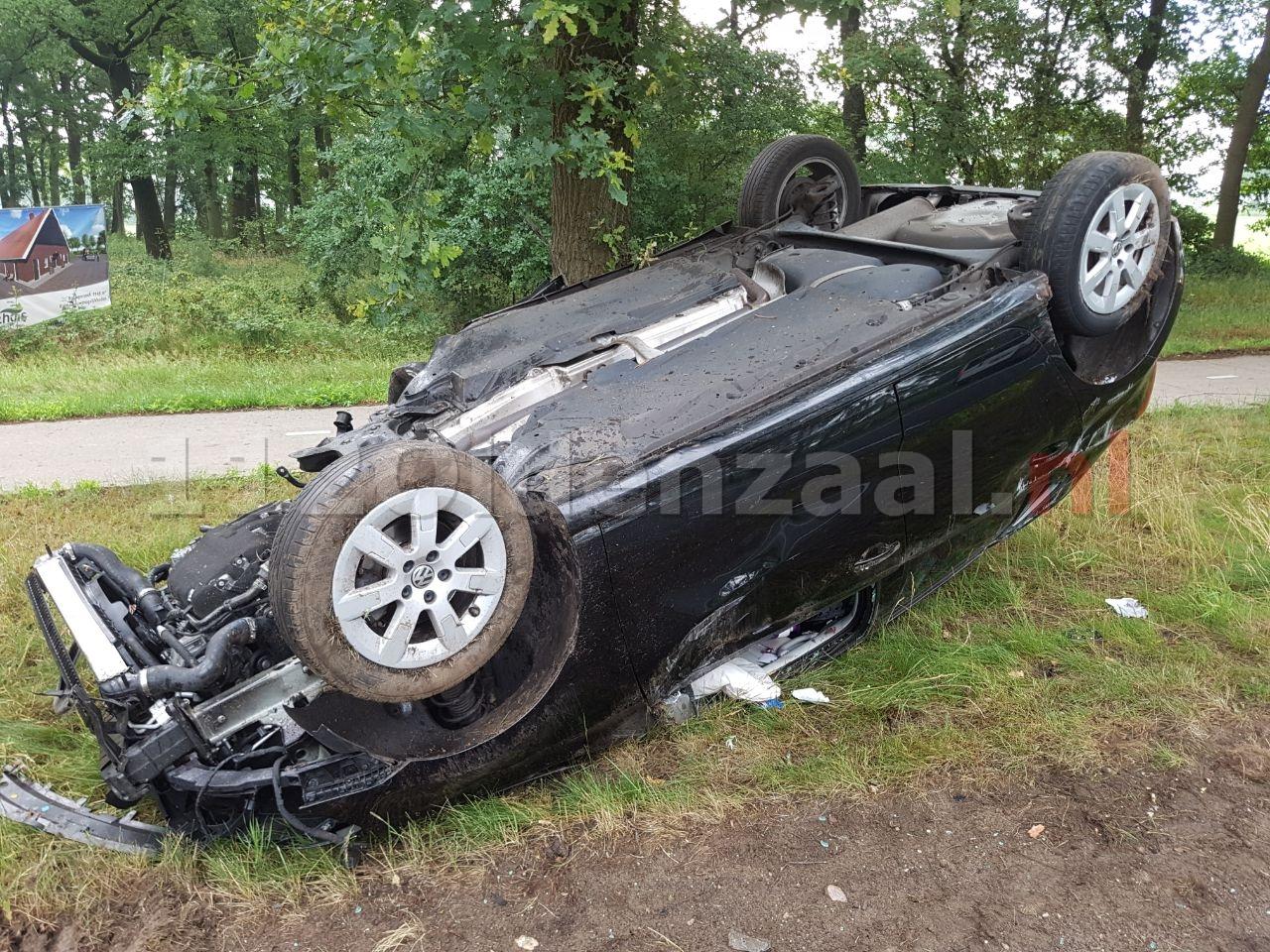 Video: Gewonde bij ernstig ongeval in Geesteren