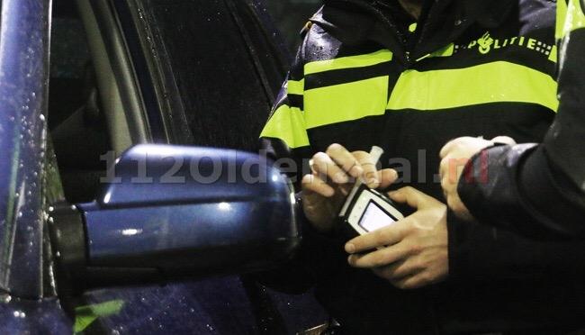 Politie houdt alcoholcontrole; bestuurder raakt rijbewijs kwijt