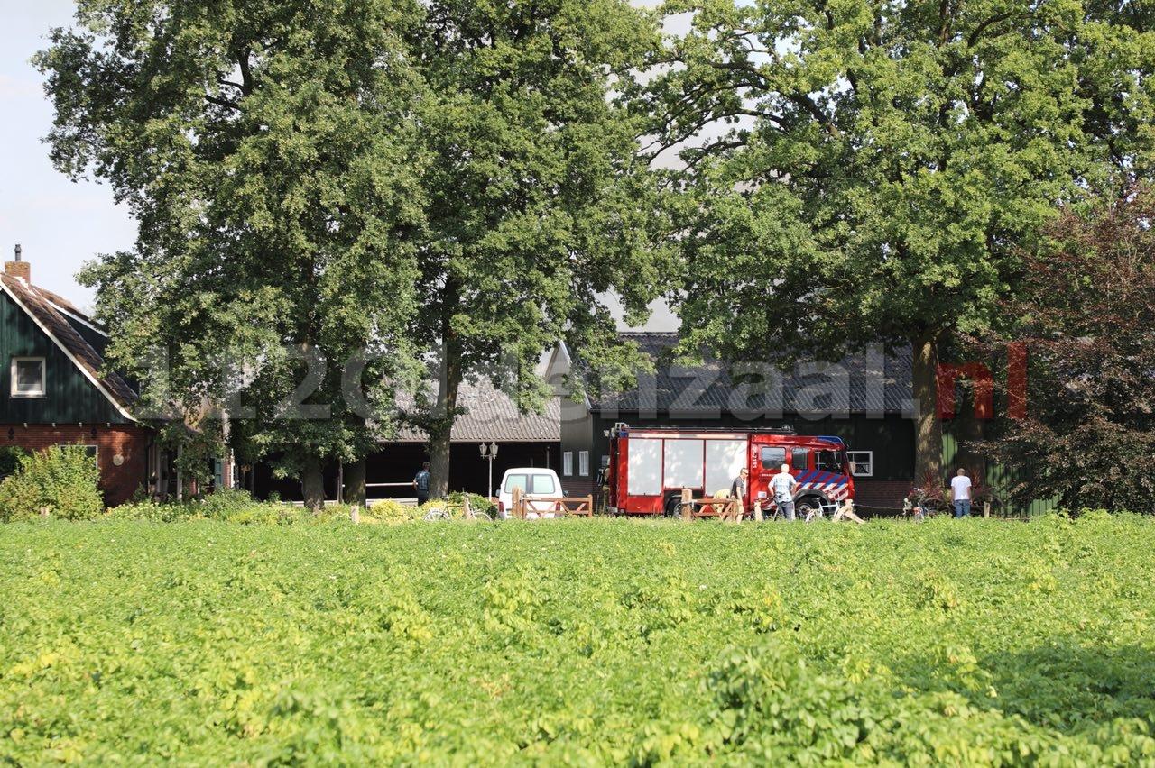 Update: Sein brand meester gegeven bij boerderij in Rossum