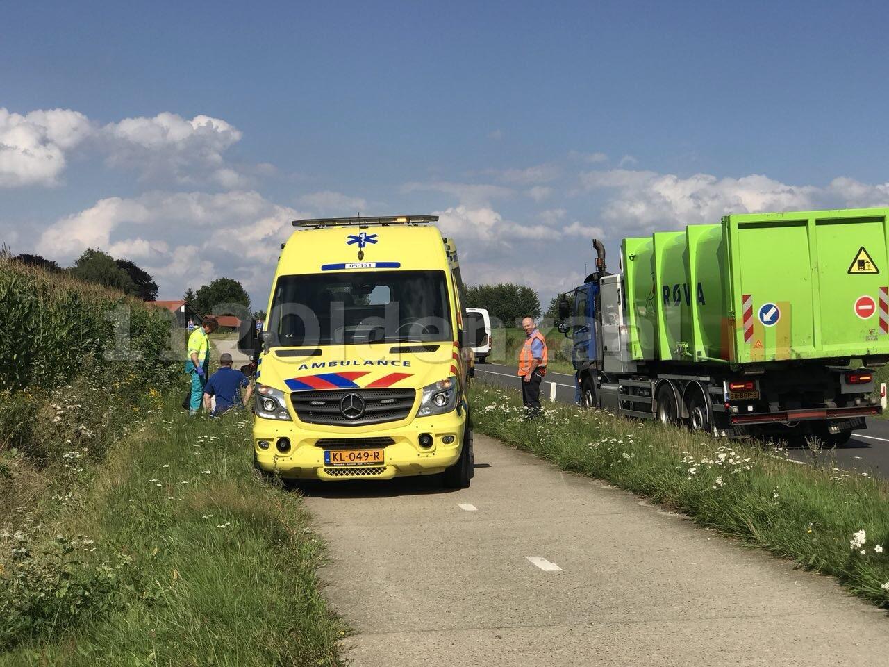 Gewonde bij ongeval in Tubbergen