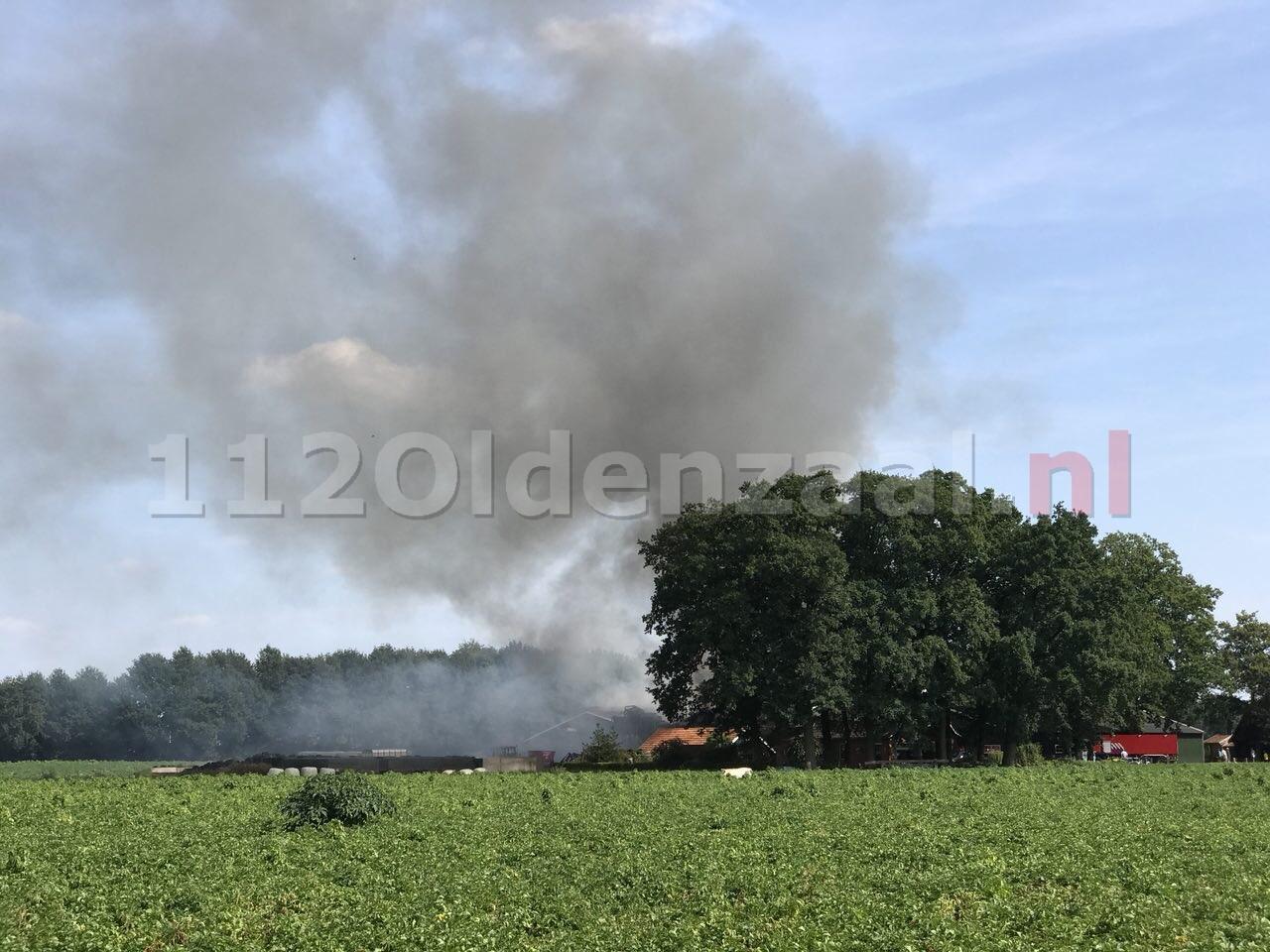 65 stieren komen om het leven bij brand in Rossum