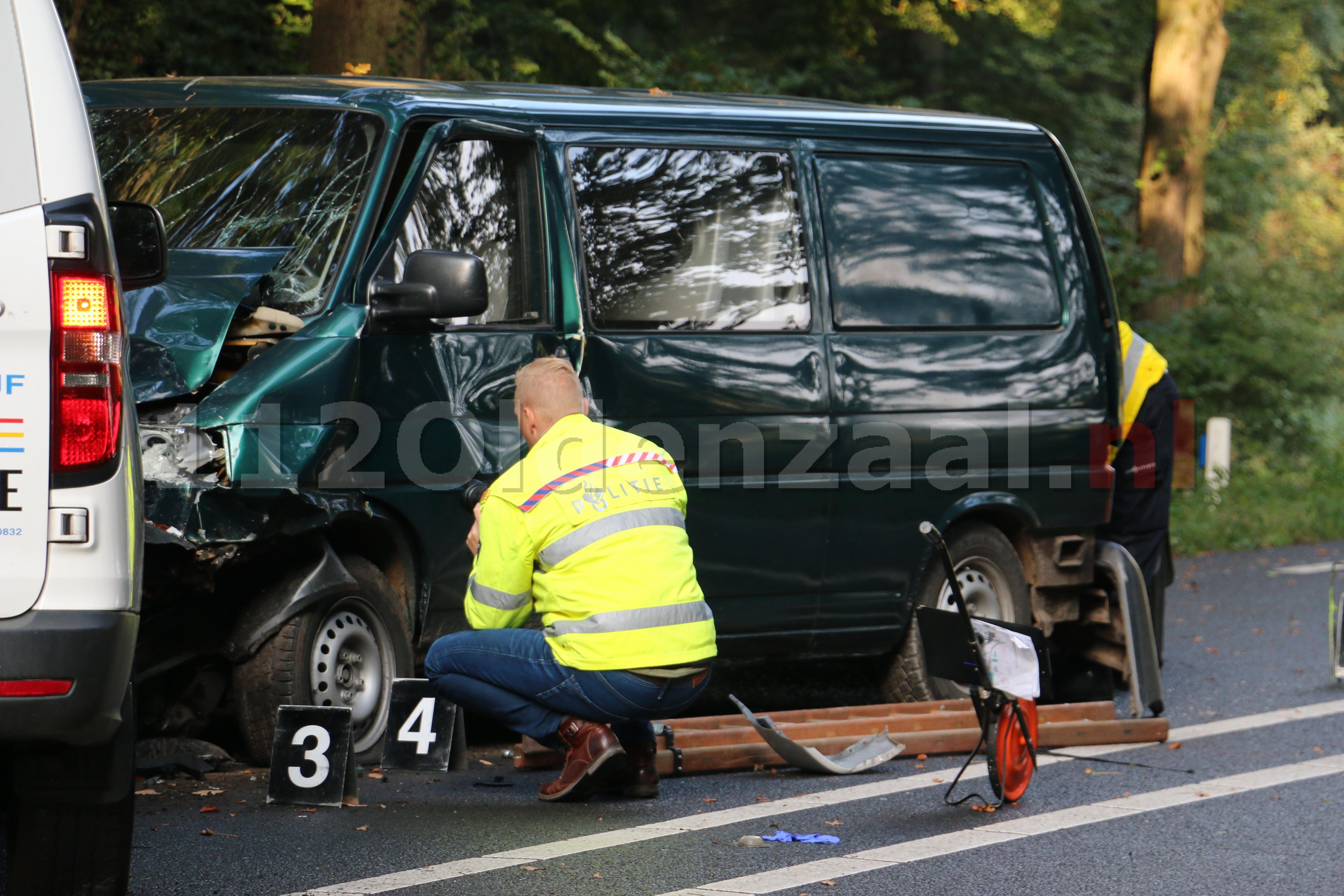 UPDATE: Twee personen gewond bij ernstige aanrijding tussen De Lutte en Oldenzaal; traumahelikopter ingezet