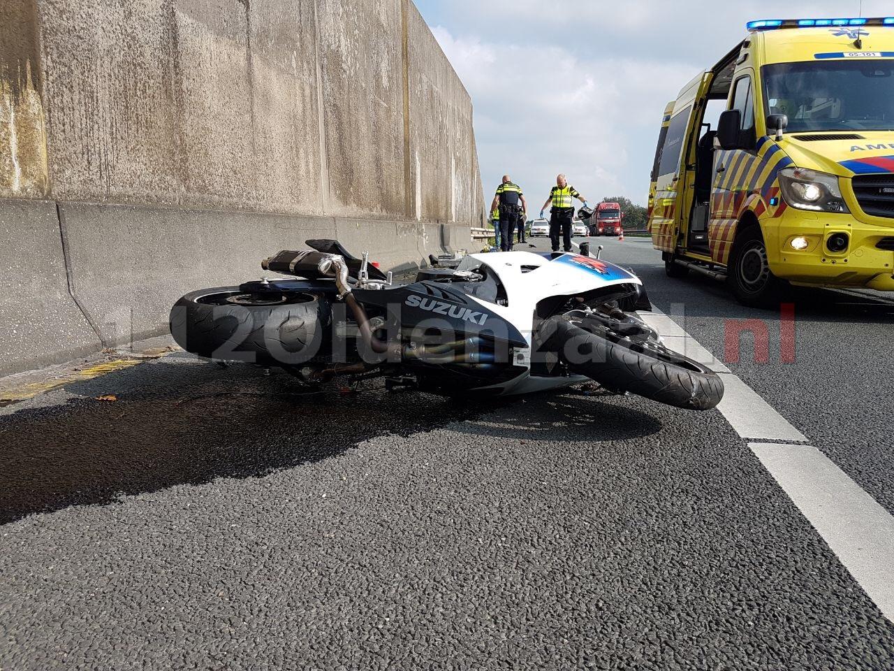 Ernstig ongeval op A1 tussen Oldenzaal en Hengelo