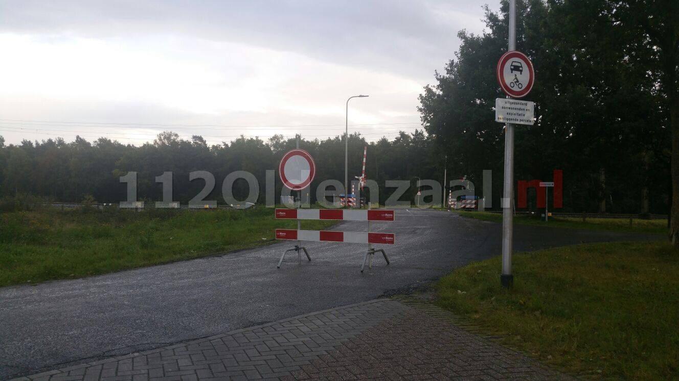 Bestuurders op de bon na negeren gesloten-verklaring Zandsteenweg