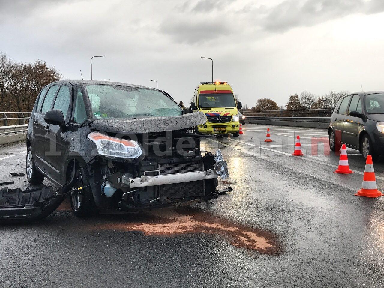 Foto 2: Ernstig ongeval Rondweg Oldenzaal
