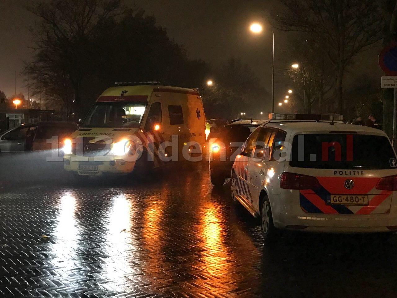 Fietsster gewond naar het ziekenhuis na aanrijding in Oldenzaal