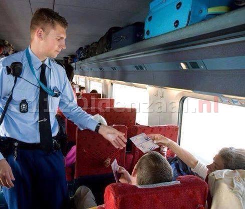 Man in trein aangehouden voor mensensmokkel
