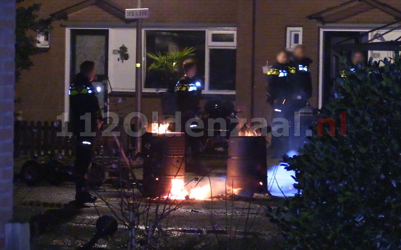 Video: Politie rukt massaal uit voor incident aan Het Nardusboer Oldenzaal