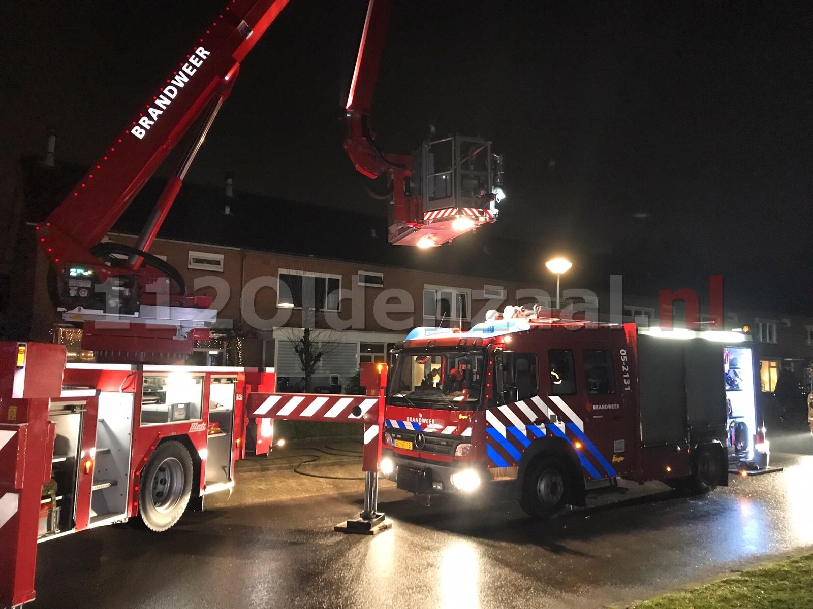Brandweer rukt uit voor melding woningbrand Oldenzaal; woonkamer vol rook