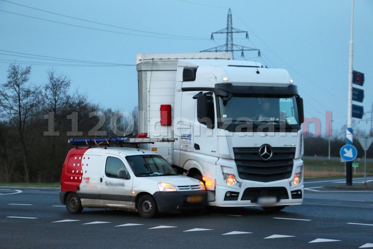 Forse vertraging op rondweg Oldenzaal door aanrijding