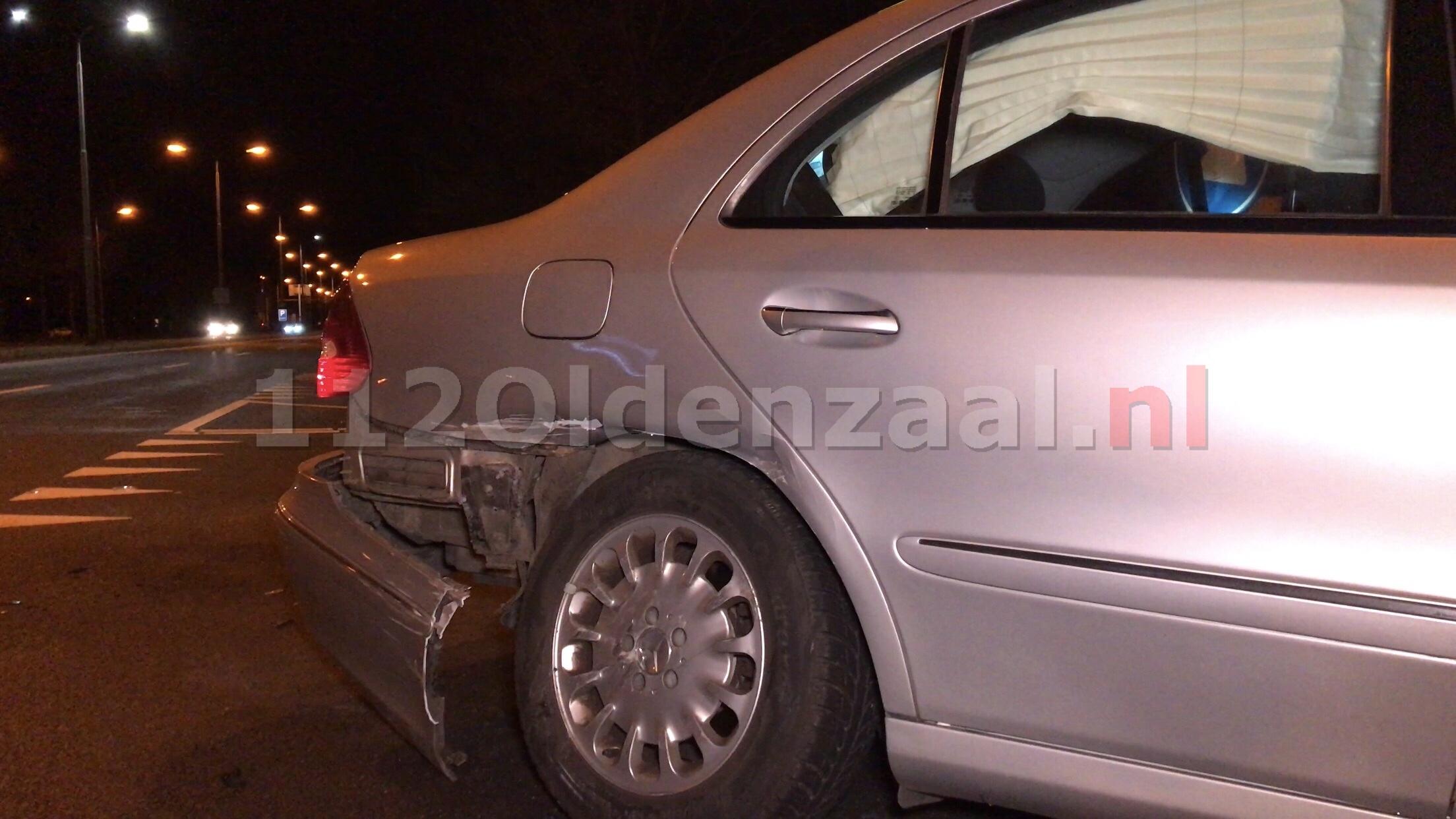 Auto afgesleept na aanrijding Enschedesestraat Oldenzaal