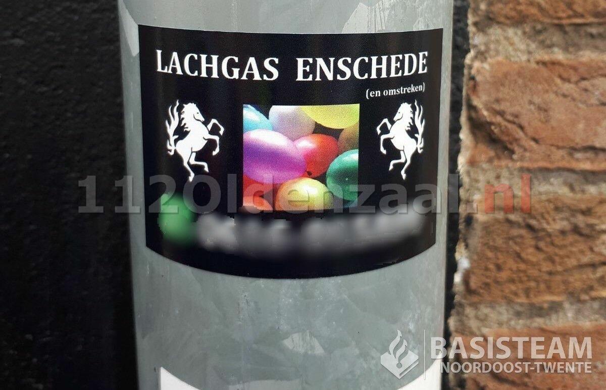 Politie waarschuwt voor lachgas