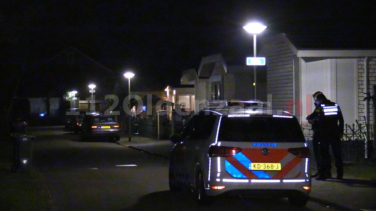 Video: Incident aan Wikke in Oldenzaal; politie rukt met meerdere eenheden uit, technische recherche doet onderzoek