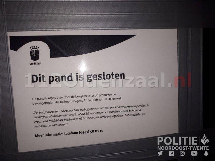 Hennepkwekerij met 450 planten aangetroffen in woning in Oldenzaal