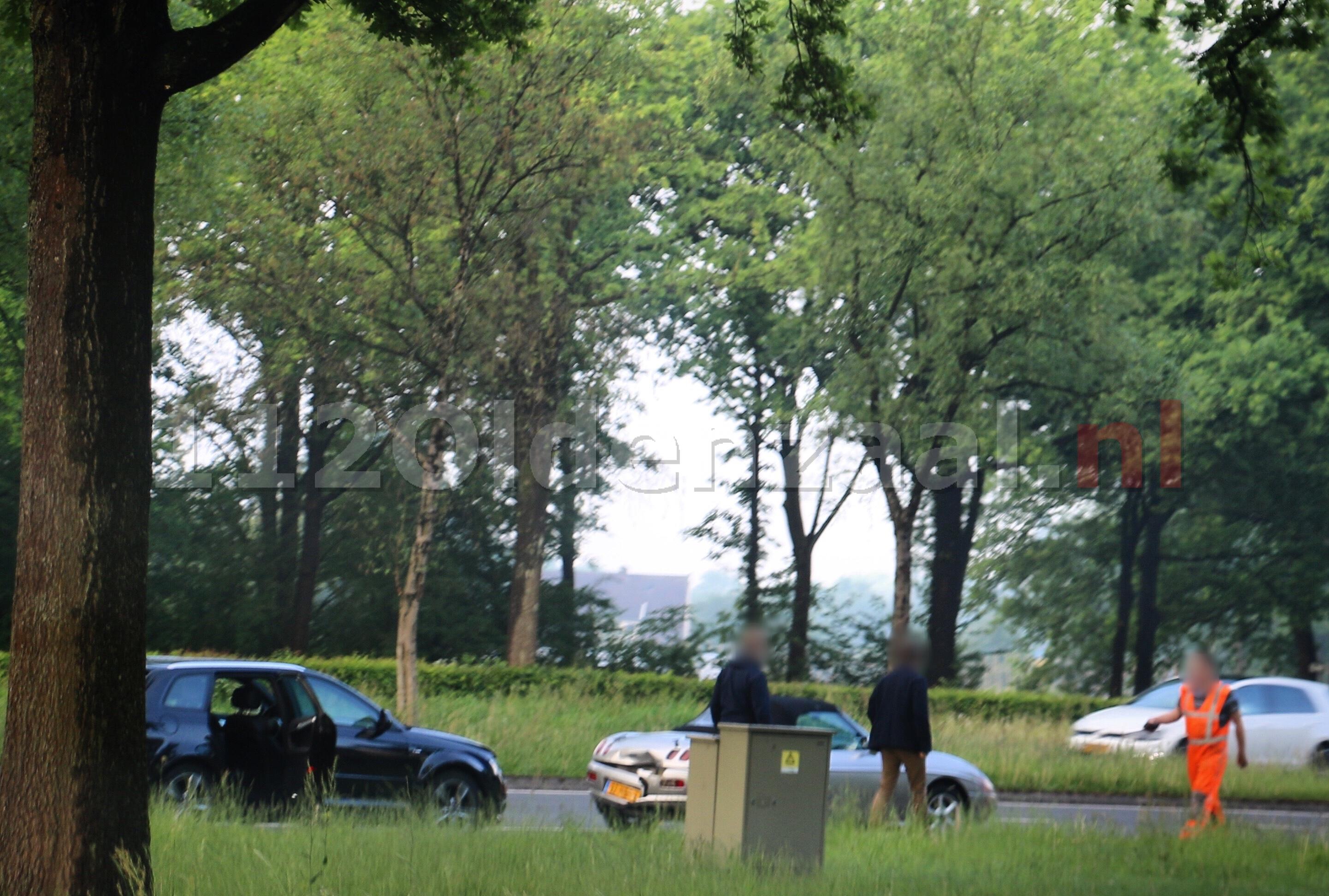 Schade na aanrijding Ossenmaatstraat Oldenzaal