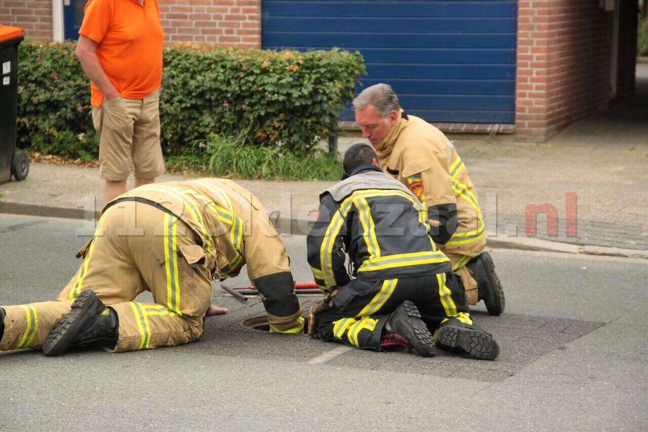 Brandweer rukt uit voor gaslucht aan Tulpstraat Oldenzaal