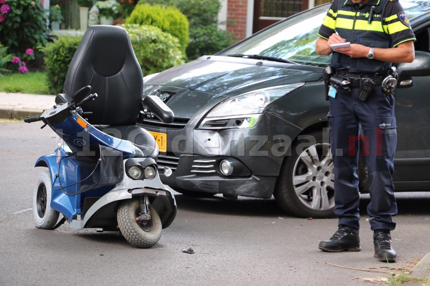 Vrouw en kind naar het ziekenhuis na aanrijding in Oldenzaal